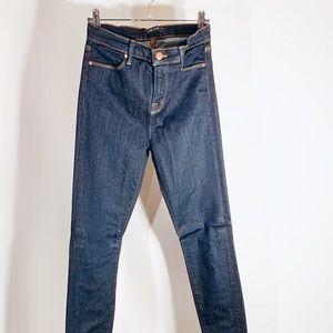 J Brand Dark Blue Denim Skinny Jean